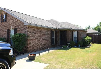 Prattville Single Family Home For Sale: 536 Old Mill Way