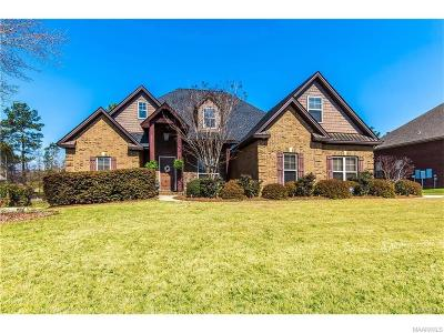 Wetumpka Single Family Home For Sale: 95 Sycamore Ridge