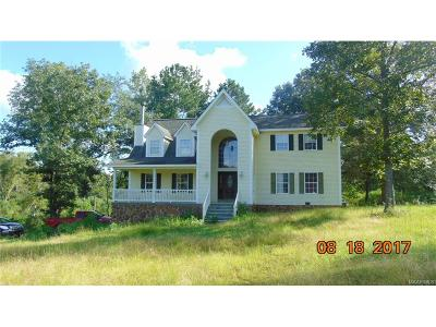 Single Family Home For Sale: 1516 Co Rd 495 Road