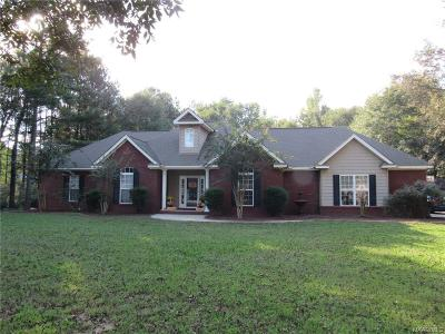 Prattville Single Family Home For Sale: 158 County Road 29 Road