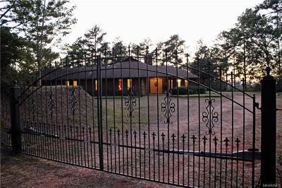 Prattville Single Family Home For Sale: 1515 Quinobequin Road