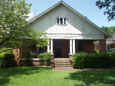 Montgomery AL Single Family Home For Sale: $49,000