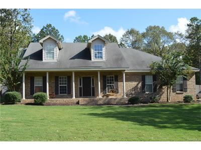 Wetumpka Single Family Home For Sale: 377 Hickory Place