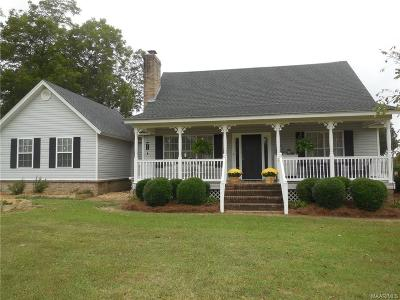 Wetumpka Single Family Home For Sale: 1490 Grier Road
