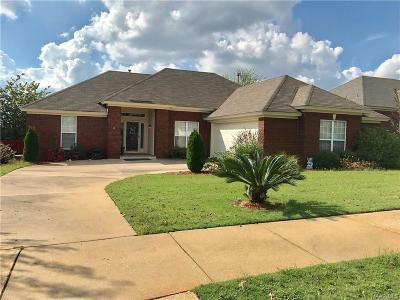 Prattville Single Family Home For Sale: 611 Castlebrook Drive