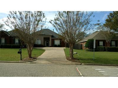Montgomery Single Family Home For Sale: 1648 Parkview Drive S