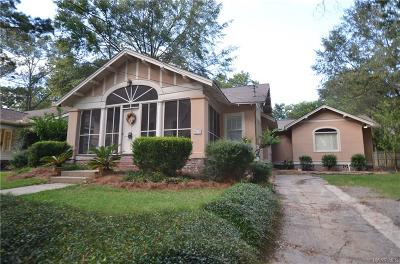 Montgomery AL Single Family Home For Sale: $214,900