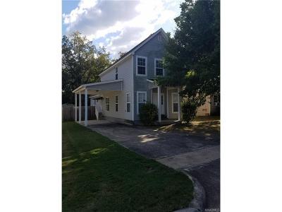 Wetumpka Single Family Home For Sale: 1005 Austin Street