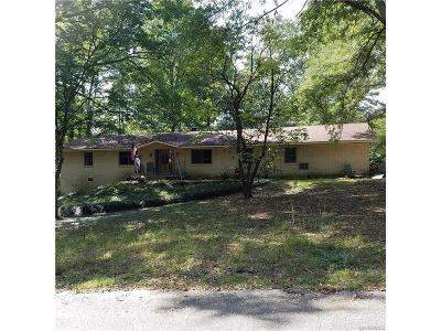 Wetumpka Single Family Home For Sale: 102 Camellia Drive