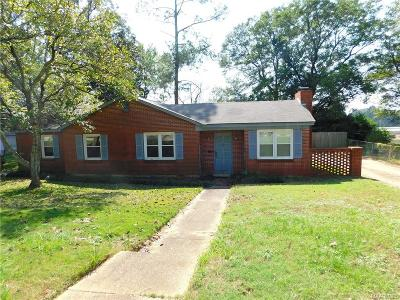 Prattville Single Family Home For Sale: 822 Newton Street