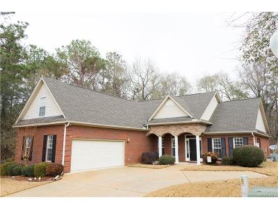 Wetumpka Single Family Home For Sale: 705 Windsong Loop