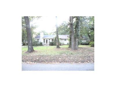 Montgomery AL Single Family Home For Sale: $49,500