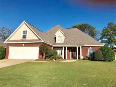 Prattville Single Family Home For Sale: 620 Prairieview Drive