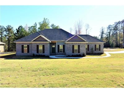 Wetumpka Single Family Home For Sale: 85 Mulder Cove Lane