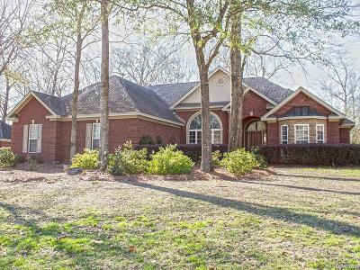 Wetumpka Single Family Home For Sale: 16 Mountain Laurel Road