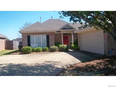 Montgomery AL Single Family Home For Sale: $170,000