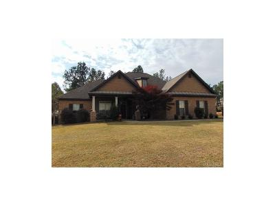 Wetumpka Single Family Home For Sale: 137 Southern Hills Ridge