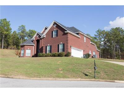 Wetumpka Single Family Home For Sale: 218 Mountain Laurel Ridge