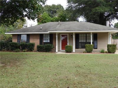 Prattville Single Family Home For Sale: 836 Cobblestone Curve