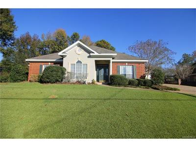 Prattville Single Family Home For Sale: 217 Doe Drive