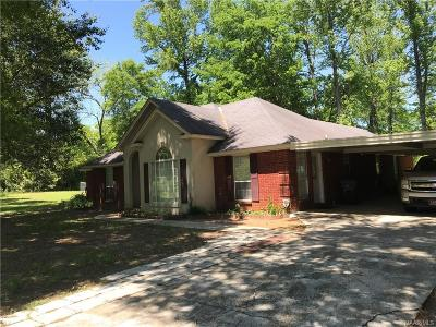 Prattville Single Family Home For Sale: 1516 Highway 14 Highway W