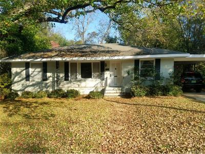 Montgomery Single Family Home For Sale: 3579 Pelzer Avenue