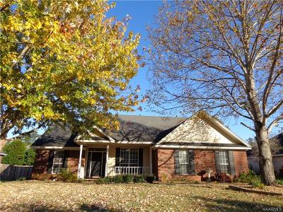 Prattville Single Family Home For Sale: 1270 Cross Creek Road