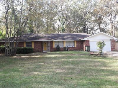 Montgomery Single Family Home For Sale: 1834 Robison Hill Road