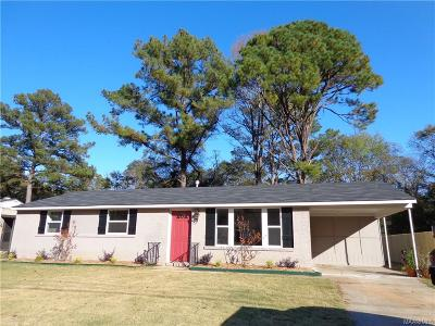 Prattville Single Family Home For Sale: 610 Woodvale Road