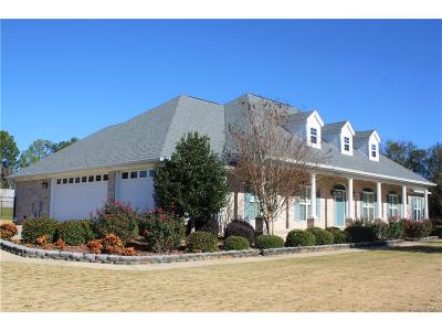 Prattville Single Family Home For Sale: 1310 Crows Pass