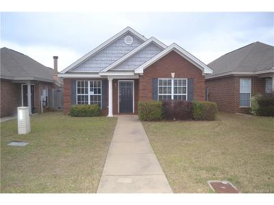 Montgomery AL Single Family Home For Sale: $132,500