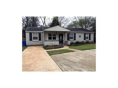Prattville Single Family Home For Sale: 1032 Wright Street