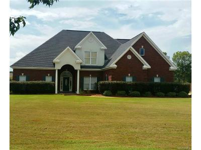 Wetumpka Single Family Home For Sale: 1085 Emerald Mountain Parkway