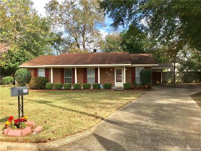 Montgomery AL Single Family Home For Sale: $79,500