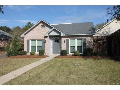 Montgomery AL Condo/Townhouse For Sale: $149,000