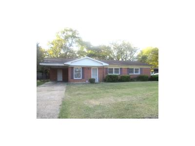 Montgomery AL Single Family Home For Sale: $26,000
