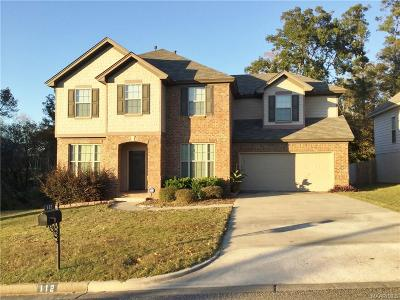 Prattville Single Family Home For Sale: 112 St Andrews Court