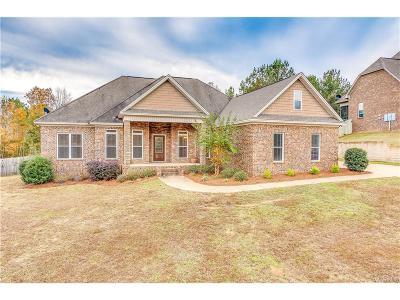 Wetumpka Single Family Home For Sale: 201 Timber Ridge