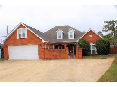 Wetumpka Single Family Home For Sale: 103 River Chase Court