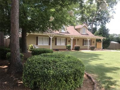 Montgomery AL Single Family Home For Sale: $217,000