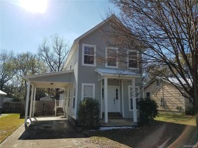 Wetumpka Single Family Home For Sale: 1005 Austin Street