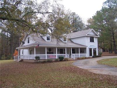 Wetumpka Single Family Home For Sale: 534 Adkins Road