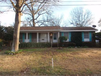 Montgomery AL Single Family Home For Sale: $87,500