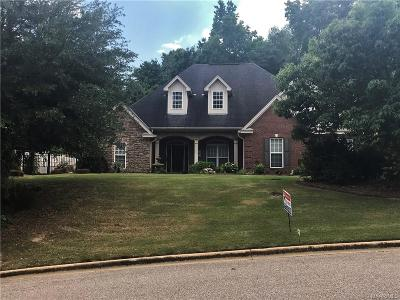 Wetumpka Single Family Home For Sale: 309 Winding Wood Drive