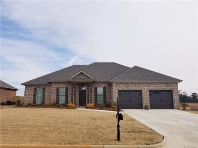 Wetumpka Single Family Home For Sale: 85 Watkins Glen Drive