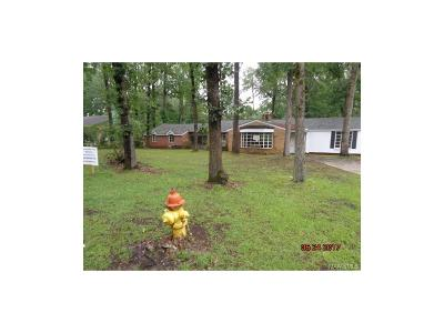 Montgomery AL Single Family Home For Sale: $47,000