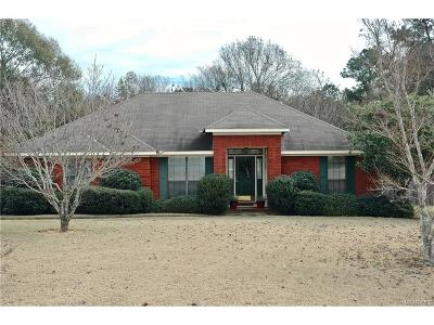 Wetumpka Single Family Home For Sale: 104 Post Oak Place
