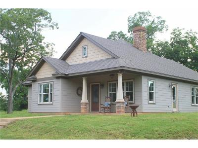 Montgomery Single Family Home For Sale: 1096 Butler Mill Road