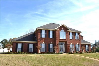 Prattville Single Family Home For Sale: 211 Doe Drive