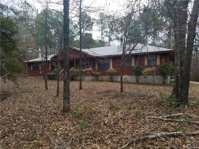 Wetumpka Single Family Home For Sale: 1255 Indian Pines Road